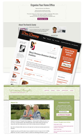 small business websites image
