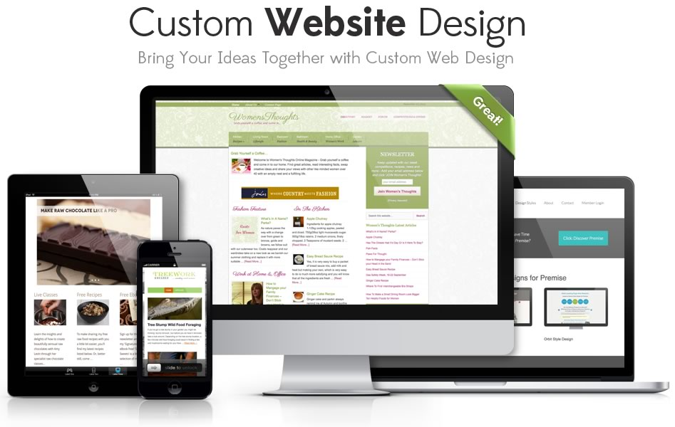 custom web design Chester compiled image