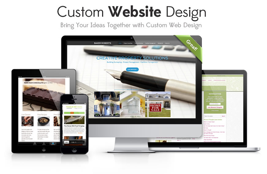 Custom Web Design Chester Jan 2014 image