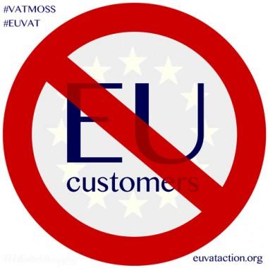 EU Customers No Entry Due to EU VAT costs