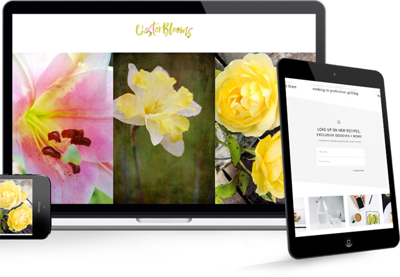 Chester Blooms Example Web Design