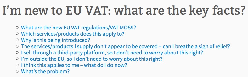 Eu Digital VAT key facts & questions