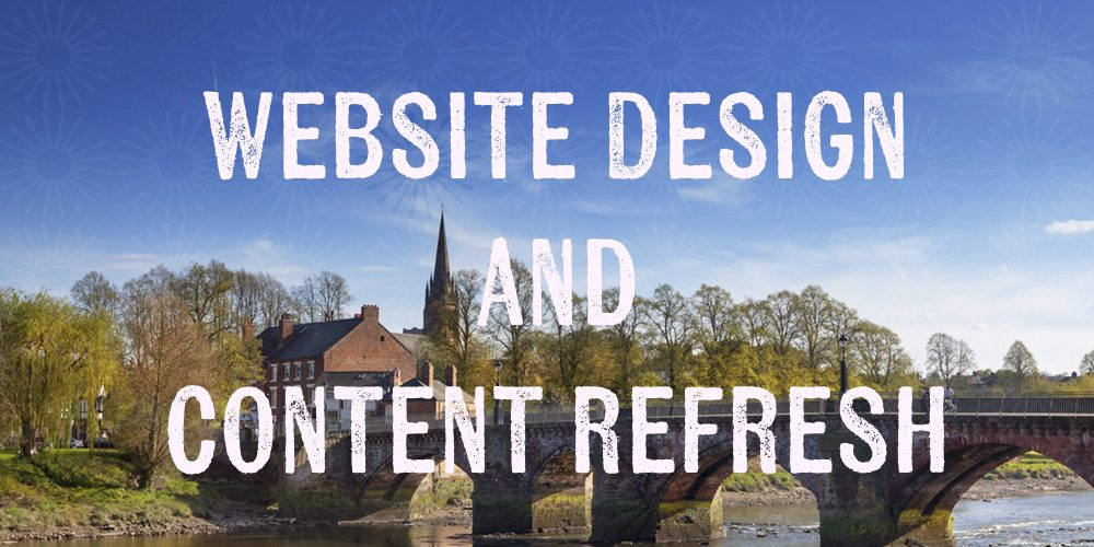 Website Design and Content Refresh