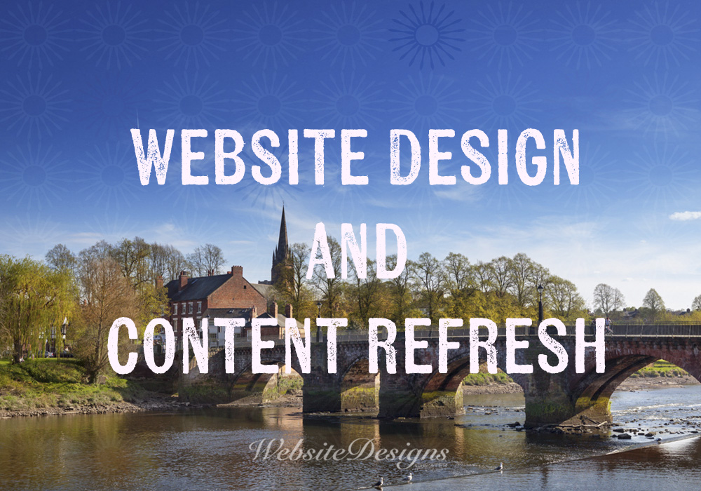 Website Design Content Refresh image